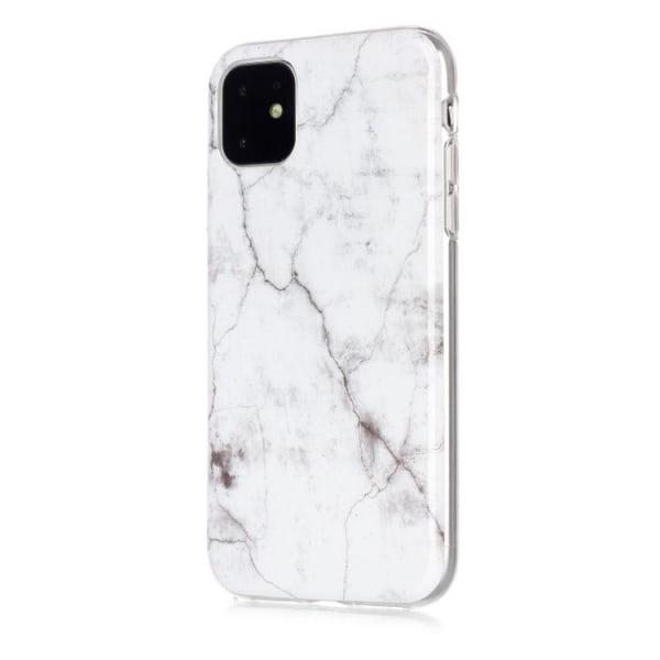Marmor skal för iPhone 11  Vit