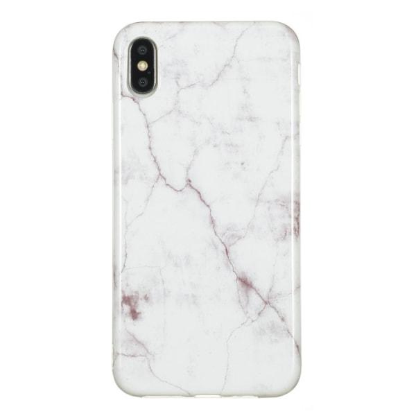 Marmor skal för iPhone Xs Max Vit