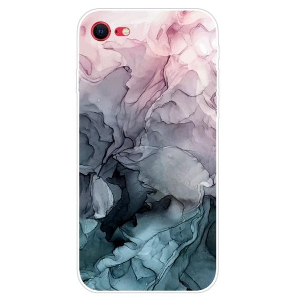 Marmor skal - till iPhone 7/8/SE 2020 multifärg