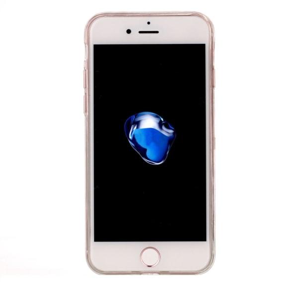 Marmor Sten TPU skal för iPhone 7/8/SE 2020 multifärg