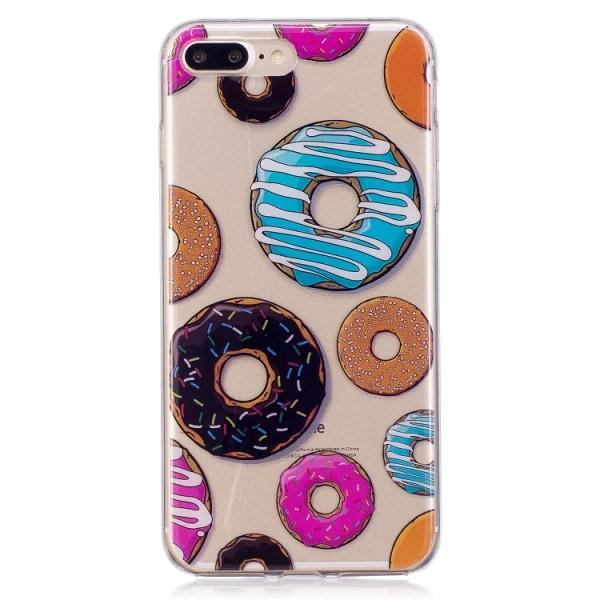 Olika Donuts- skal till iPhone 8 plus multifärg