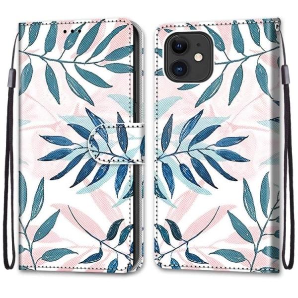 Plånbok med mönster för iPhone 12 / 12 PRO  multifärg