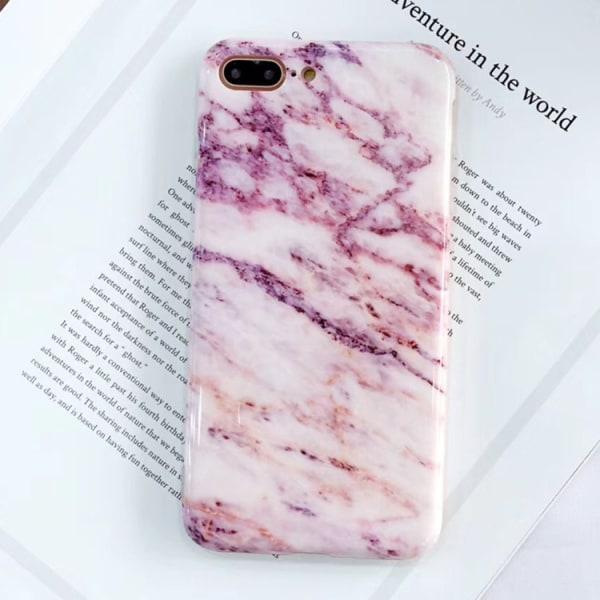 Rosa marmor skal- iPhone 7 plus Rosa