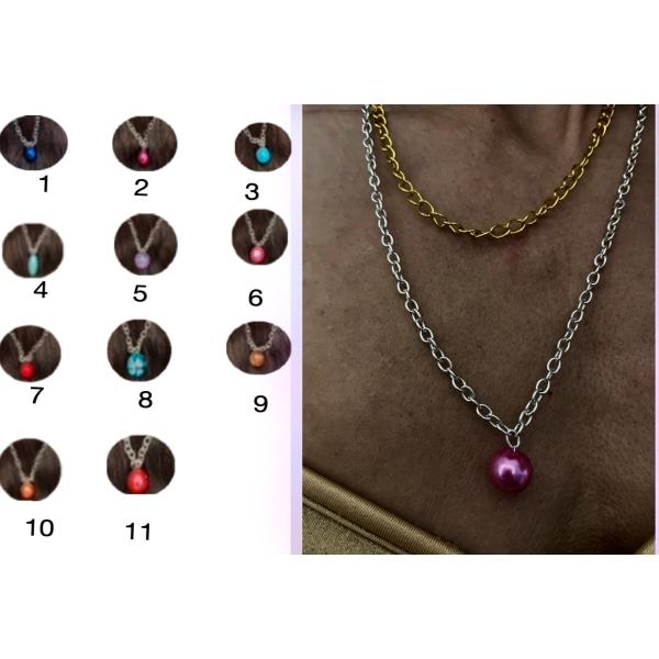 Supersnygga halsband 11 olika färger att välja mellan