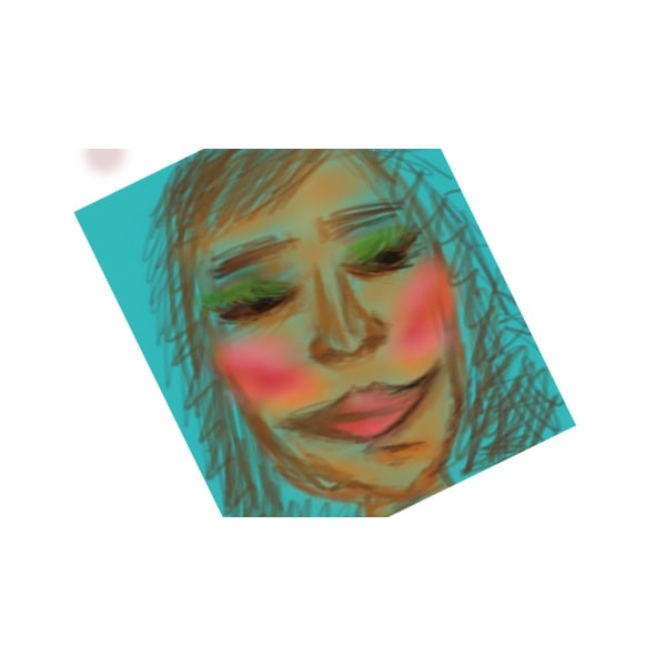 "X1 -""AFF""- Art for feeling size 15 x 15 cm"