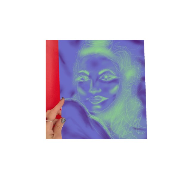 "X10 -""AFF""- Art for feeling size 29 x 21 cm +"