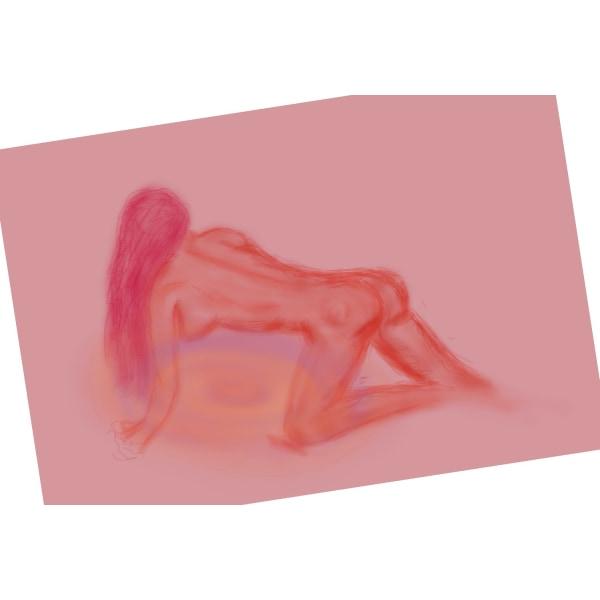 """X118 - """"AFF""""- Art for feeling size 29 x 21 cm (bild 1)"""