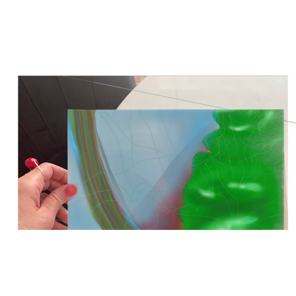 "X2 -""AFF""- Art for feeling size 29 x 21 cm"