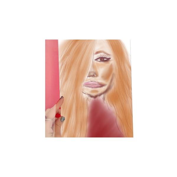 "X6 -""AFF""- Art for feeling size 29 x 21 cm"