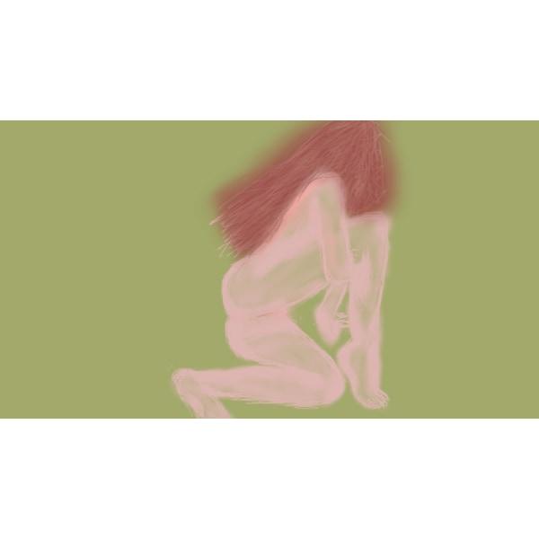 """X83 - """"AFF""""- Art for feeling size 29 x 21 cm (bild 1)"""