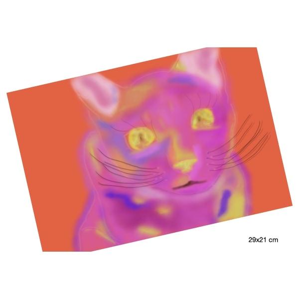 """X104 - """"AFF""""- Art for feeling size 29 x 21 cm (bild 1)"""