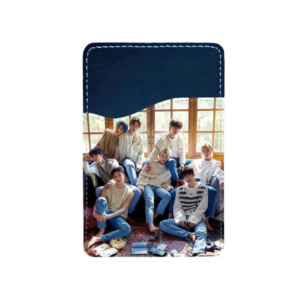 K-pop Stray Kids Självhäftande Korthållare För Mobiltelefon multifärg one size