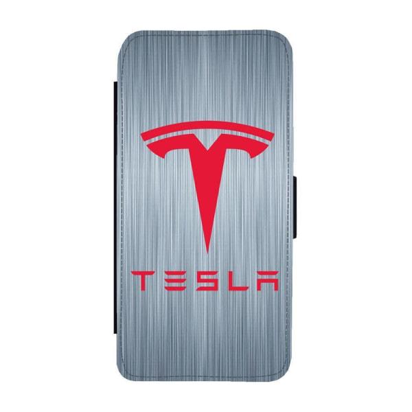 Tesla iPhone 12 Mini Plånboksfodral