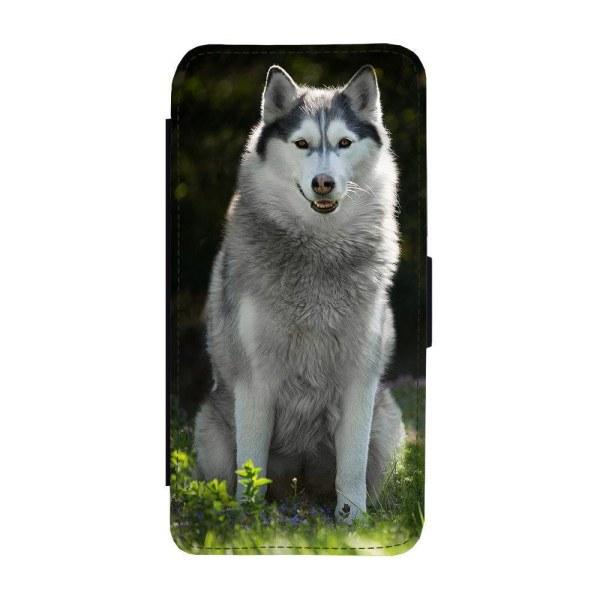 Hund Siberian Husky iPhone 12 Mini Plånboksfodral