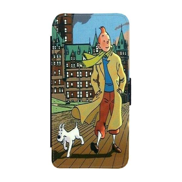 Tintin iPhone 12 Mini Plånboksfodral