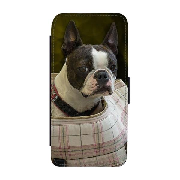 Hund Bostonterrier Samsung Galaxy S10e Plånboksfodral