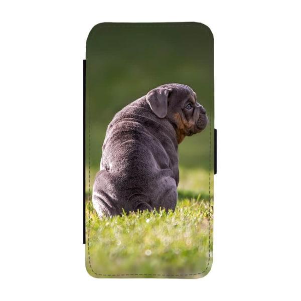 Hund Engelsk Bulldogg iPhone SE 2020 Plånboksfodral
