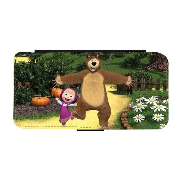 Masha och Björnen Samsung Galaxy S20 PLUS Plånboksfodral