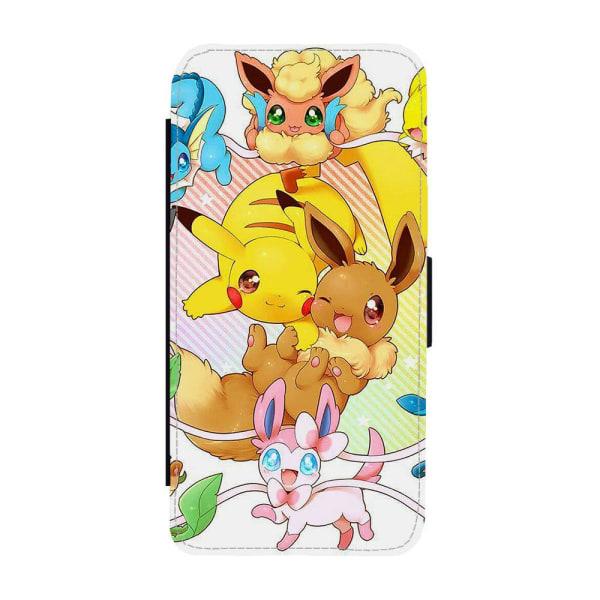 Pokemon Pikachu & Eevee iPhone 12 Pro Max Plånboksfodral