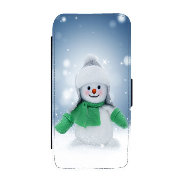 Snögubbe iPhone 11 Plånboksfodral