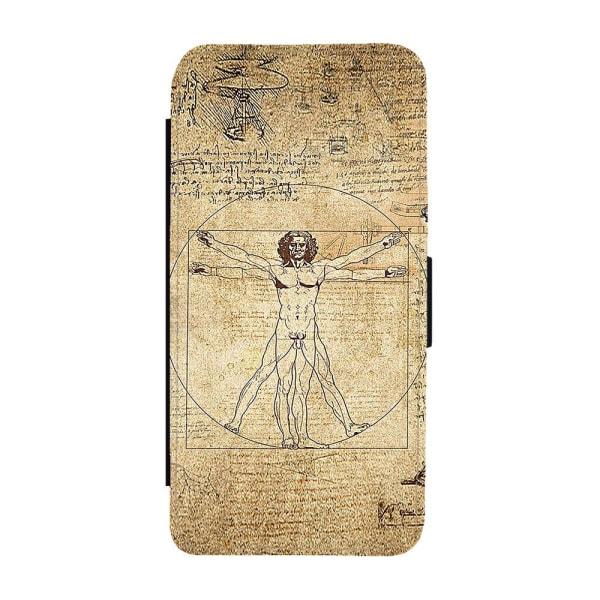 Vitruvianske Mannen Samsung Galaxy S20 Plånboksfodral