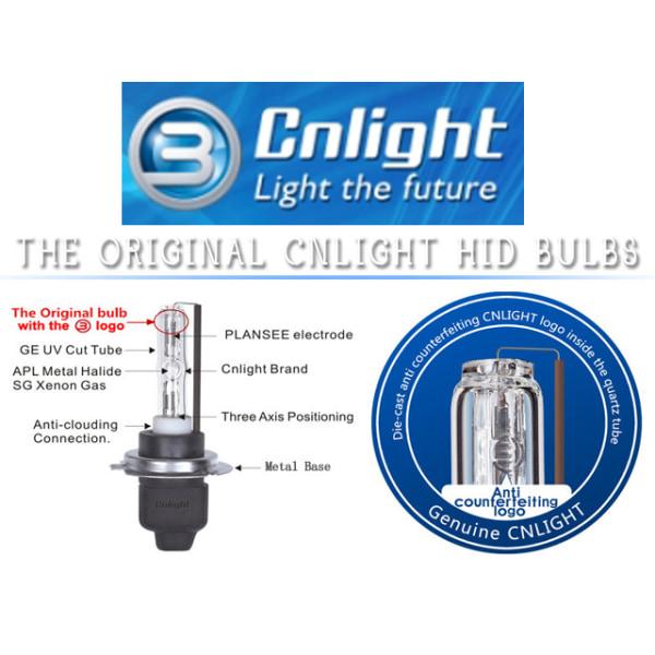 CNLight Xenon Lampor 9004 9007 35W 4300K High Q xenonlampor
