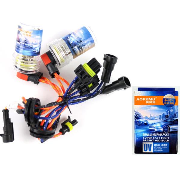 Aokemu +30% H8 H9 H11 55w 75W 5600k Xenon Lampor High Quality