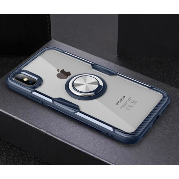 2 in 1 Magnet Case - iPhone 11 Pro Max Blå