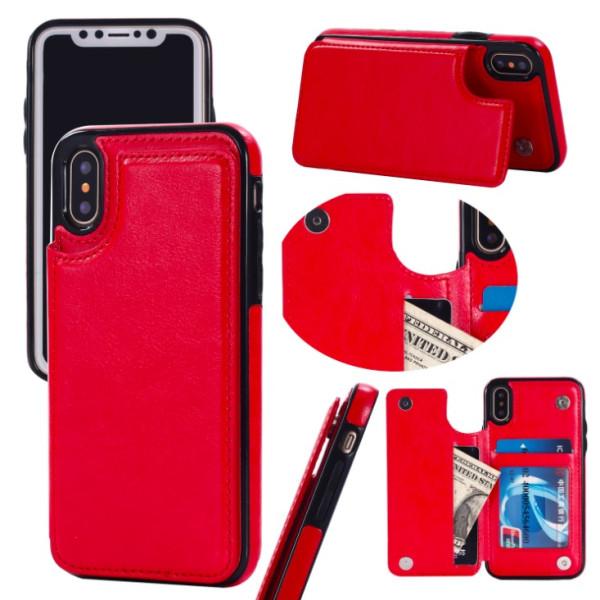 Back Card Case - iPhone 7/8 Röd
