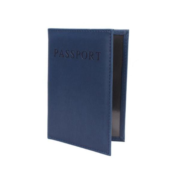 Passport Cover  Mörkgrön