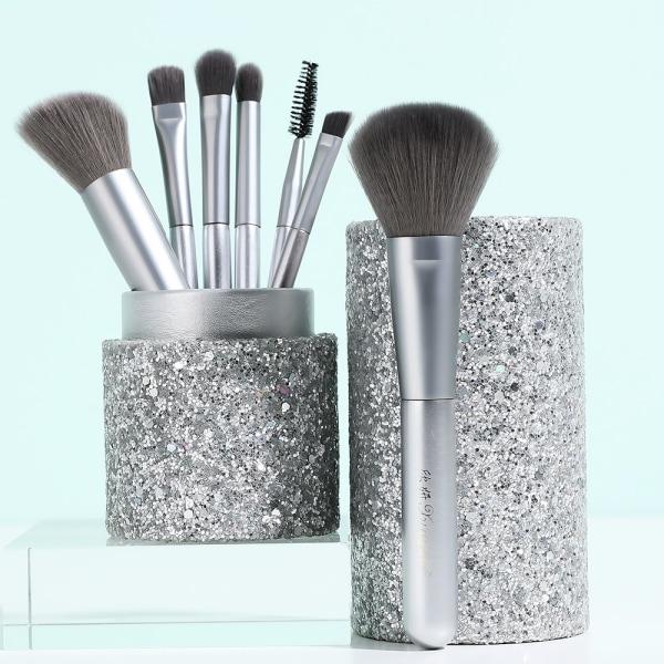 12st Makeupborste Set med fodral