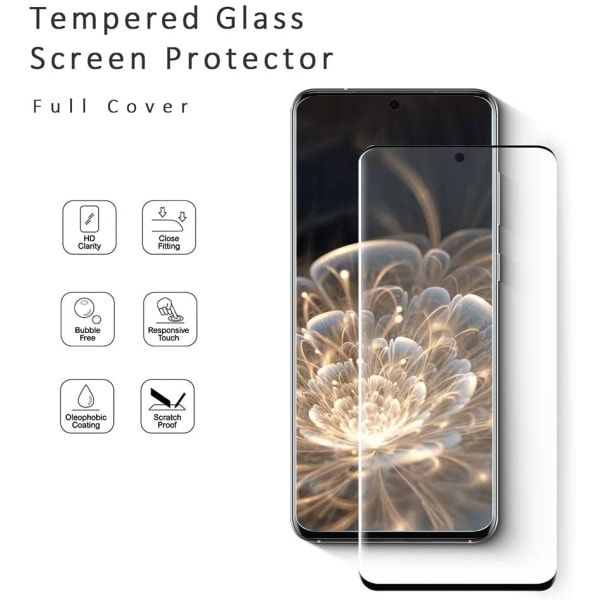 2 st 10D skärmskydd för Samsung S21 ultra