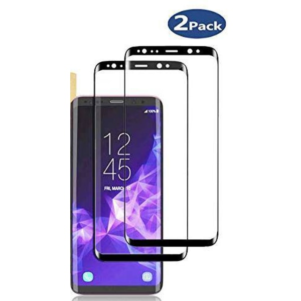 2 st  härdat plexiglas glas för Samsung S8