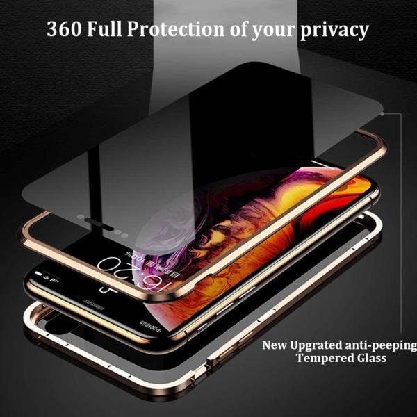 Sekretess magnetfodral för Samsung Galaxy S20 plus svart svart
