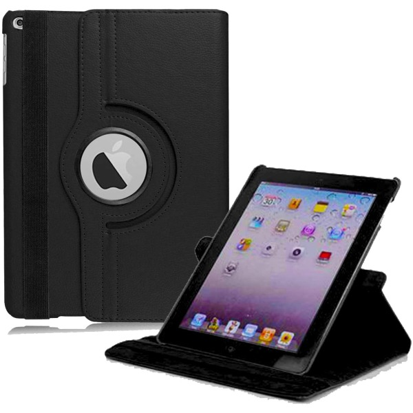 """iPad/iPad Air2 fodral, 9,7""""svart svart"""
