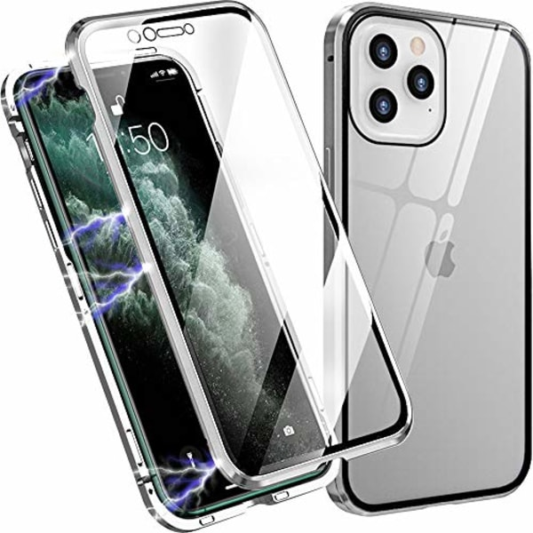 Magneto för iphone 12mini|silver
