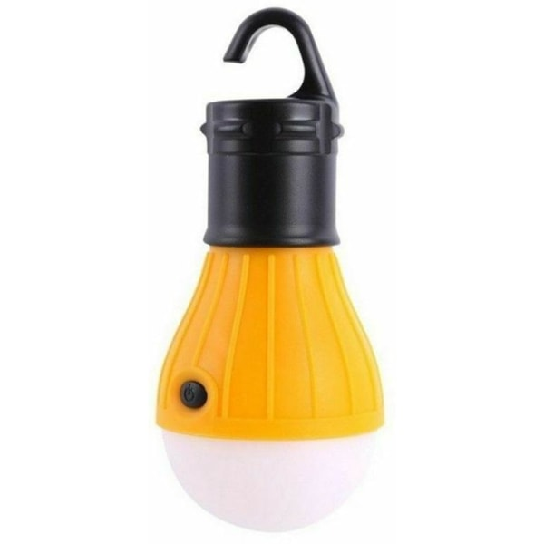 Batteridriven Campinglampa med krok
