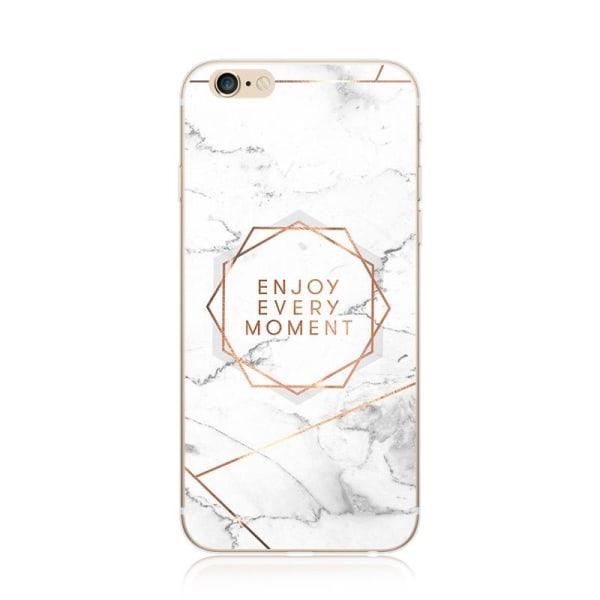 Mjukt TPU skal iPhone 7 Plus/ Iphone 8 Plus, Enjoy every moment