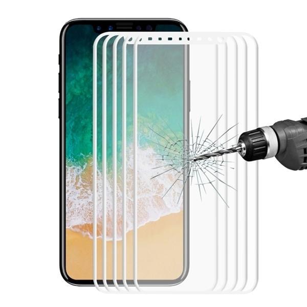 Heltäckande 3D displayskydd i härdat glas till iPhone X/XS/11 Pr