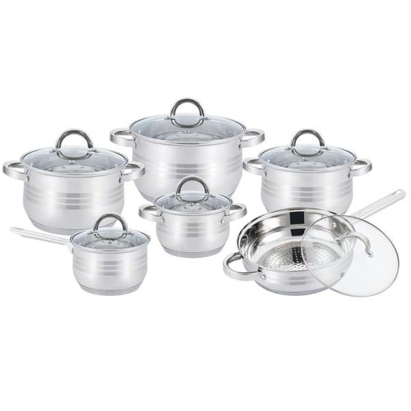 Kitchen Pro Plus Kökset i 12 delar från , Rostfritt stål