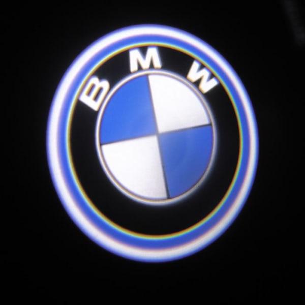 LED Dörrbelysning, BMW logga