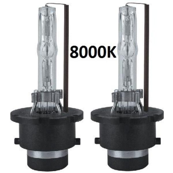 Xenonlampor, D2S 2-pack (8000K)