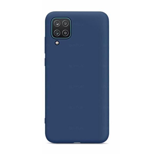 Stötdämpande Silikonskal (LEMAN) - Samsung Galaxy A12 Grön