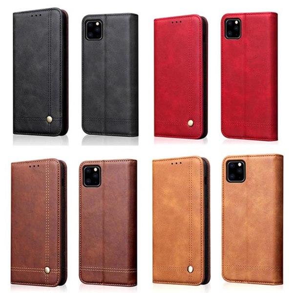 Smidigt Stilsäkert Leman Fodral - iPhone 11 Pro Max Ljusbrun