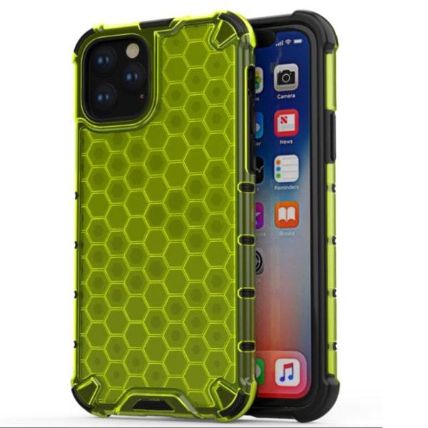 Stötdämpande HIVE Skal - iPhone 11 Pro Max Röd