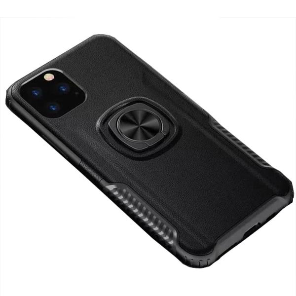 iPhone 11 Pro Max - Skal med Ringhållare Röd