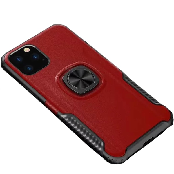 Stilrent Skal med Ringhållare - iPhone 11 Pro Max Röd