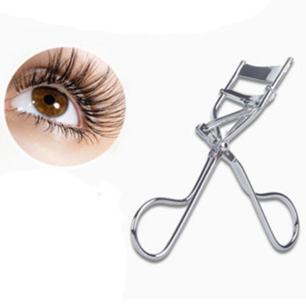 Smidig Genomtänkt Ögonfransklämma (Hög Kvalitet) Silver