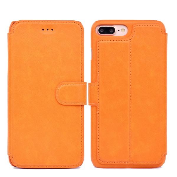 Fodral med Kortplatser till iPhone 6/6S Plus Orange