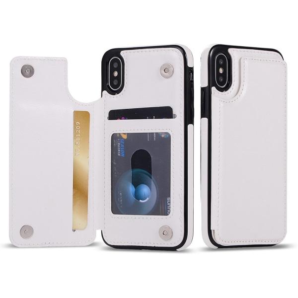 Stilsäkert Plånboksskal (M-Safe) för iPhone XR Svart